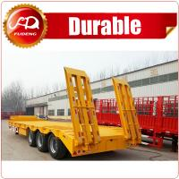 Buy cheap Heavy duty 40-80 ton low bed trailer truck/tractor trailer cheap price from wholesalers