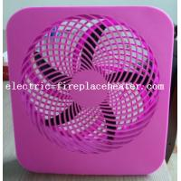Cheap Pink Lightweight Square Electric Fan Battery Operated Cooling Fan With Handle wholesale