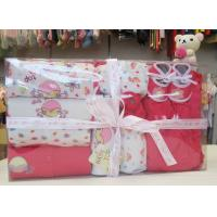 Cheap Custom Eco - printing Organic Cotton Baptism Gift Sets For New Born Baby ODM wholesale