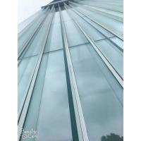 Cheap 10+0.76PVB+10,insulating glass,color green, double glazing unit, laminated glass, double pane, glazing, 5 + 5A + 5 mm, wholesale