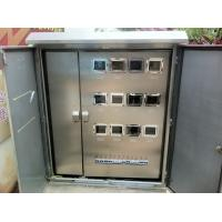 Cheap Double Layers Door Electricity Meter Cabinets wholesale