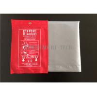 Cheap Silicone Coated Fiberglass Emergency Fire Blanket Flame Retardant 1000x1800mm wholesale