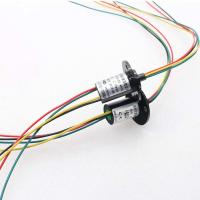 China OD 22mm 18 circuits 2A of stock capsule mini slip rings without flange on sale