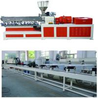 Cheap Electricity Twin Screw Extruder Granulation Pelletizing System PP PE Conveyor Belt Machine wholesale