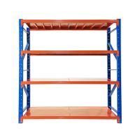 Cheap Powder Coated Steel Shelving Racks 200kg Per Layer Loading For Warehouse Storages wholesale