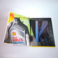 Quality A5 Portrait Folder Lcd Video Greeting Card , Audio Video Business Cards IPS for sale