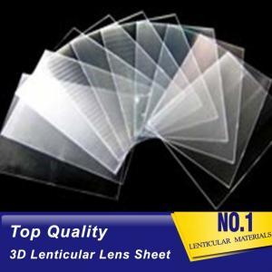 Cheap PLASTIC LENTICULAR thin lenticular sheet supplier 160 lpi 25c pet lenticular lens material factory production line wholesale