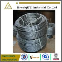 Cheap Hgih tension free sample Galvanized steel wire rope wholesale
