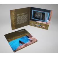 Cheap promotion LCD Sreen Video Wedding Invitations for Gifts , Custom Logo / Video wholesale