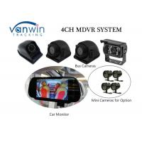 Cheap Compact 4 Channel 3G Mobile DVR With Built-In GPS Mirror Recording In SD Card for Vehicles wholesale