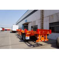 Cheap 3 axles container trailer chassis terminal chassis - CIMC VEHICLE wholesale