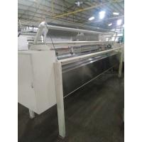 China Horizontal Fabric Roll Cutting Machine , Industrial Fabric Die Cutter For Quilted Panel on sale