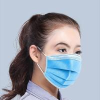 Cheap Folding Type 3 Layers Filtration Medical Face Mask Easy To Put On / Take Off wholesale