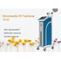 Buy cheap 4 Heads Depth 0.5 - 3mm Fractional RF Microneedle Machine For Skin Rejuvenation from wholesalers
