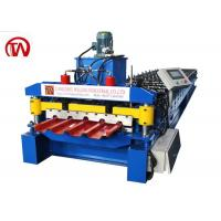 China IBR Roof Roll Forming Machine With 18 Stations Simple Structure No Pollution on sale