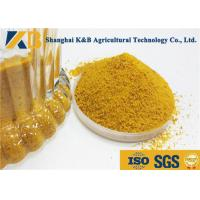 Buy cheap SGS HACCP Poultry Feed Corn Gluten Meal 40kg Bag Package Slight Smell And Taste from wholesalers