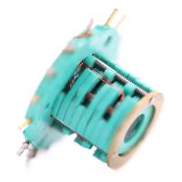 Cheap 2A Per Wire Separate Slip Ring Transmitting 100 RPM Rotating Speed 15 Circuits wholesale
