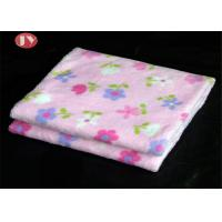 Cheap Soft Comfortable Thermal Printed Newborn Baby Flannel Weighted Small Baby Blanket For Kids wholesale