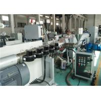 Cheap Gas Water PE Pipe Extrusion Line Single Outlet 4 - 9m / Min Capacity wholesale