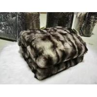 Buy cheap Fuzzy luxury faux fur super soft fluffy cozy warm throw blanket from wholesalers