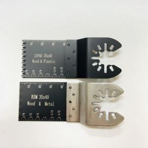 Cheap 2PCS 35X40 Mm Hcs Dewalt Oscillating Blade For Wood Soft Metal wholesale