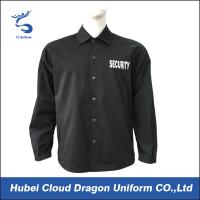 Cheap Customized Spring Security Guard outwear Jackets for men for sale