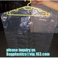 Cheap Clothing Packing 60cm width Dustproof Plastic Dry Cleaning Laundry Bag,Custom Poly Dry Cleaning Bags For Garment Plastic wholesale