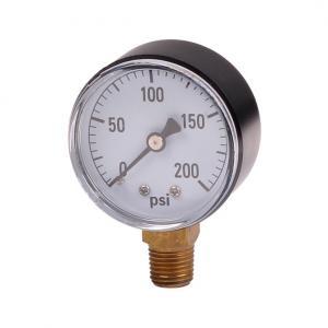Cheap 50mm 0~200psi 0~14bar Pool Filter Water Pressure Dial Hydraulic Pressure Gauge Meter Manometer wholesale