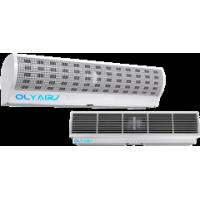 Cheap OlyAir Cyclone cross Flow Air Curtain from 90-200cm length remote control with install hig wholesale