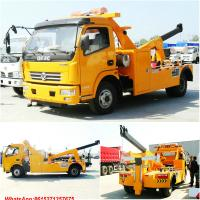 Cheap road wrecker with crane Tow crane road wrecker WhatsApp:8615271357675  Skype:tomsongking wholesale