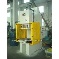 Buy cheap PLC Drive Sheet Hydraulic C Type Power Press Machines with Large Capacity from wholesalers