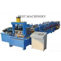 China Automatic Roll Forming Machine C And Z Purlin Steel Channel Quick Change on sale