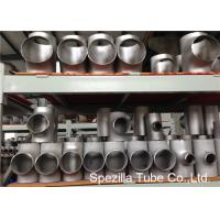 Buy cheap SS Pipe Fittings 1/2'' - 24'' Straight Tee , Butt Weld Stainless Steel Pipe from wholesalers