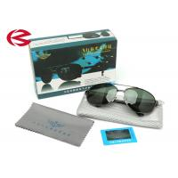 Cheap Adult Polarized Mirrored Aviator Sunglasses With Dark Green Unbreakable Lens wholesale