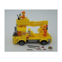 Cheap Popular Building And Construction Toys Robot Truck 3 Deformation Yellow Color wholesale