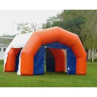 Cheap Orange Field Inflatable Medical Tent Mobile Hospital Temporary Shelter wholesale