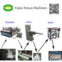 Cheap Semi automatic small toilet paper making machine production line wholesale