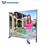 Cheap 10x8 Ft Stand Trade Show Booth Backdrop Telescopic Adjustable Flat Straight wholesale