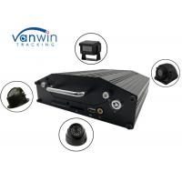 Cheap RS232 720P 4G 4 Channel Mobile DVR Onboard Cameras Inputs Bus Router With Hard Drive wholesale