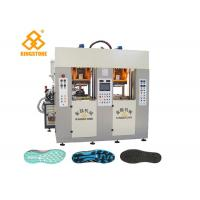 Cheap Two Stations TPU TR PVC TPR Sole Making Machines For Brand Shoes / 3.5*3.8*2.8m wholesale