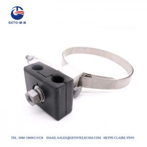 Cheap OPGW Aluminum 17mm ADSS Tower Pole Down Lead Clamp wholesale