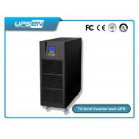 Cheap Pure sine wave high frequency online ups 6kva -10kva single phase uninterruptible power supply for sale