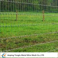 Cheap Woven Wire Fence Roll|Called Non-Climb Security Fencing Mesh for Horse Cattle wholesale