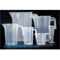 Cheap 1L Clear measurement glass graduated cylinder jug for labor usage 200ml/400ml/900ml single wall water graduate measuring wholesale