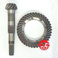 Quality Truck Spiral Bevel Gear Modulus 6.4 , Crown Wheel and Pinion Gear for sale