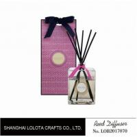 Cheap Professional Home Reed Diffuser Square Shaped SGS ITS BV Certificated wholesale