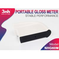 Cheap Thailand Small Aperture Portable Gloss Meter NHG60M Single Angle Paint Gloss Meter For Marble Ceramic wholesale