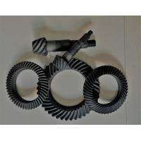 China Right Hand Steel Spiral Bevel Gear For Gearbox Anti - Oil Blacking Surface Treatment on sale