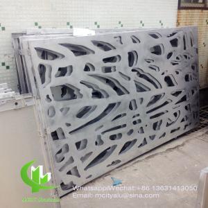 Cheap Tree aluminium veneer sheet metal facade cladding bending sheet 2.5mm thickness for curtain wall facade decoration wholesale