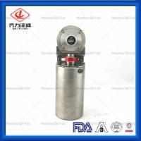 Cheap Anti Rust Sanitary Butterfly Valve Silicon Seat  Clamp Butterfly Valve wholesale